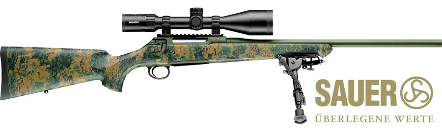 Rifle Sauer S100 Cherokee