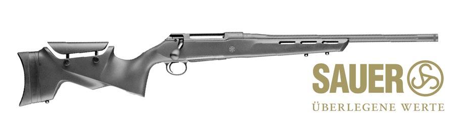 Rifle Sauer S100 Pantera negro