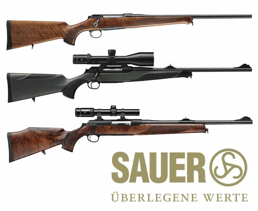 Modelos rifle Sauer S100