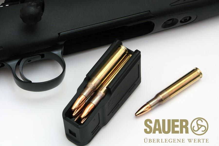 Cargador del rifle Sauer S100