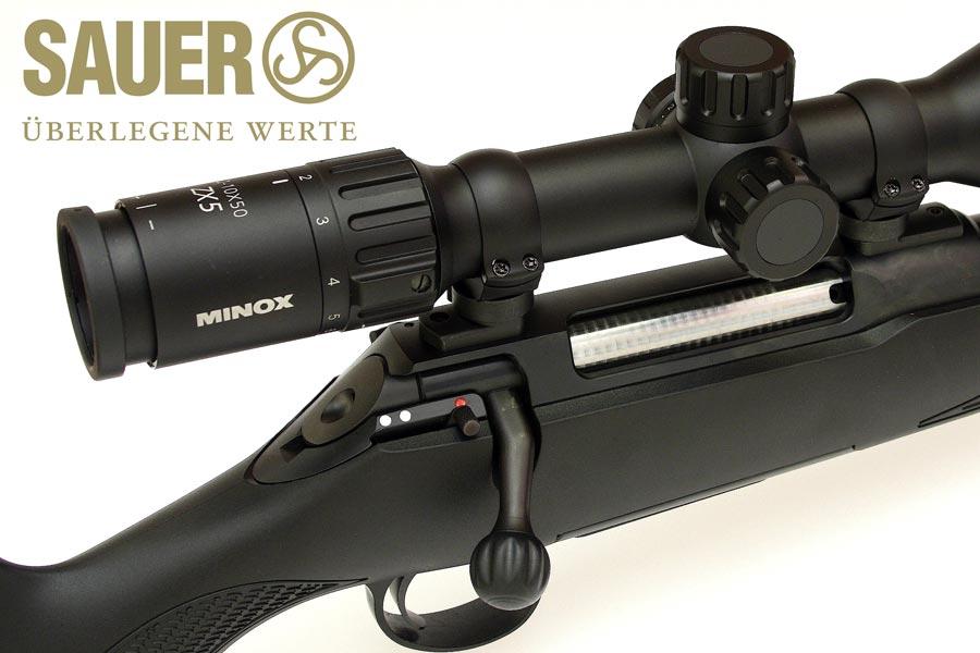 Seguro en rifle Sauer S100