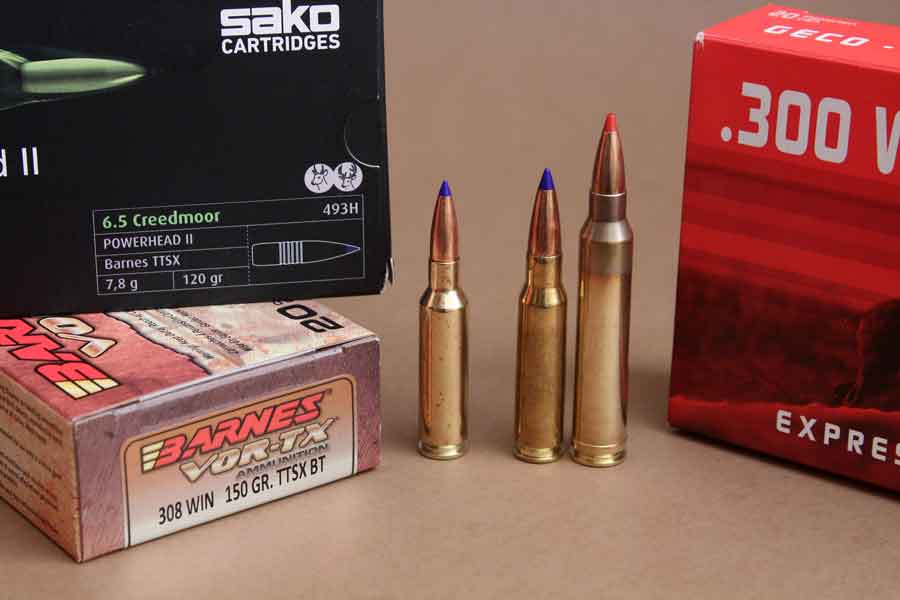 Calibres de balas