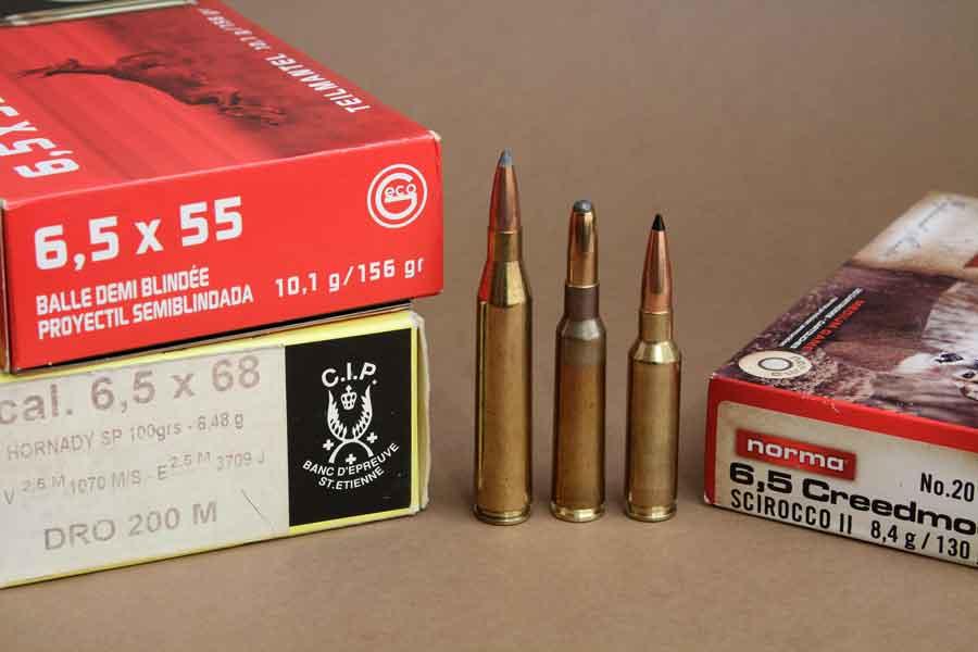 Cartuchos de bala del 6.5 Creedmoor