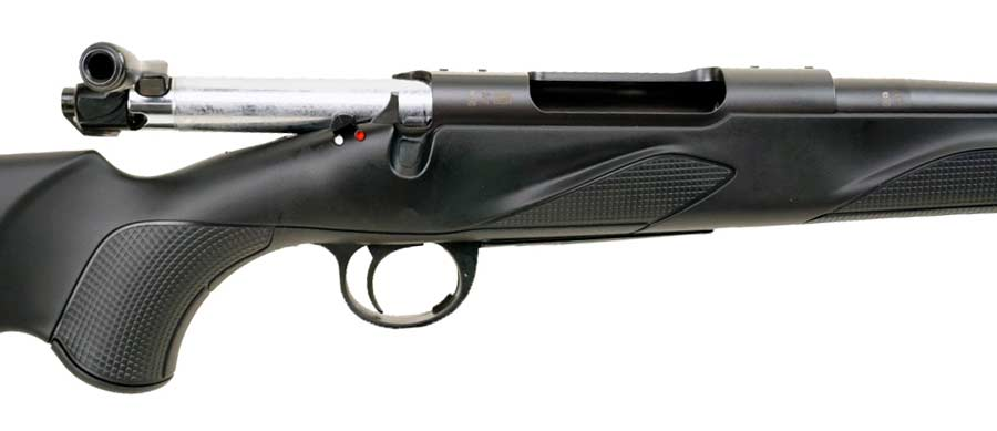 maneta y cerrojo del rifle Franchi Horizon