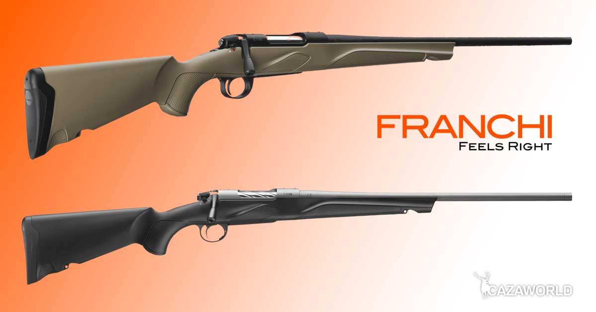 Nuevos rifles Franchi Horizon