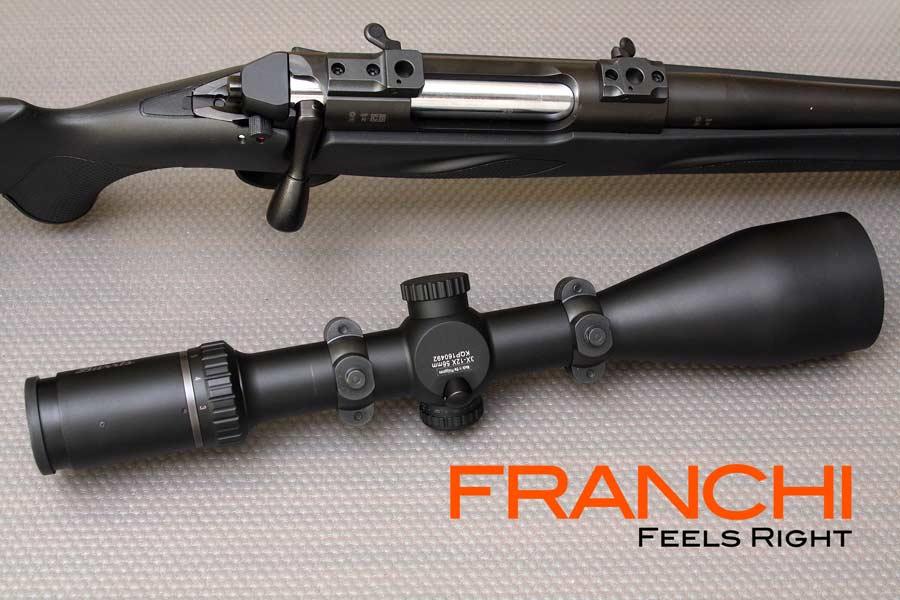 Rifle Franchi Horizon y visor Burris