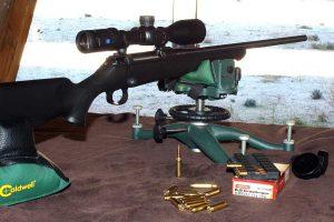Visor Zeiss montado en rifle Sauer