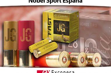 Cartuchos Nobel Sport España - JG.