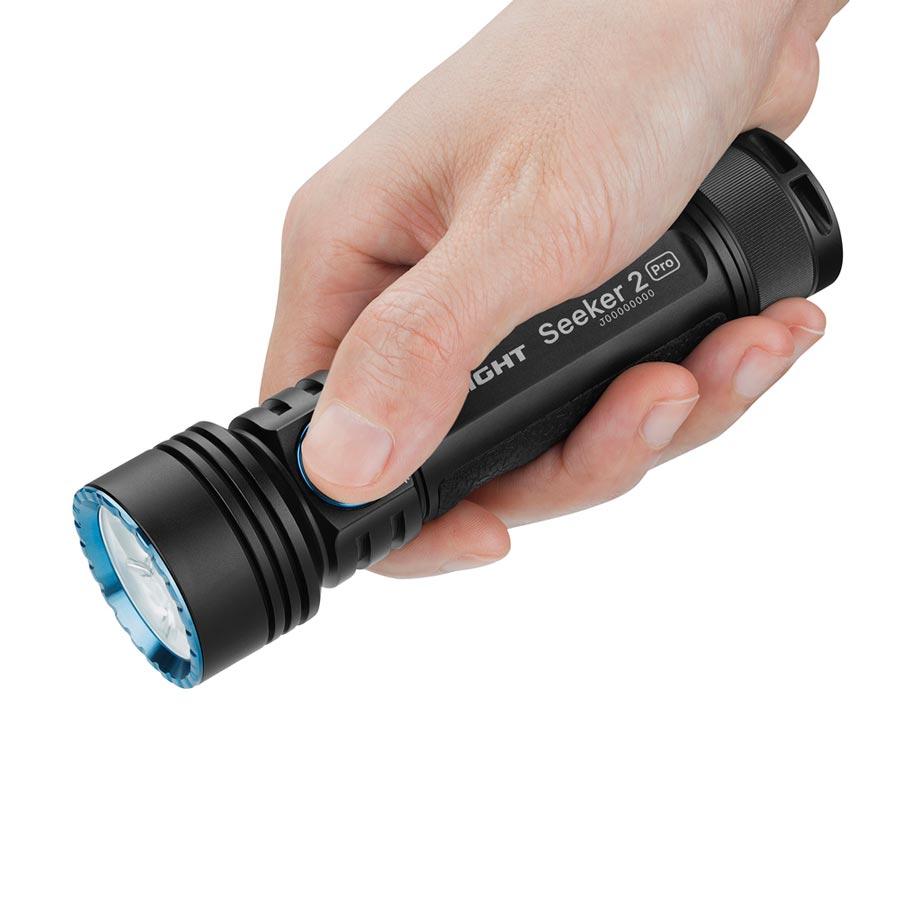 Linterna de mano Seeker 2 Pro de Olight.