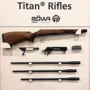 Los rifles Titan pueden cambiar de calibre