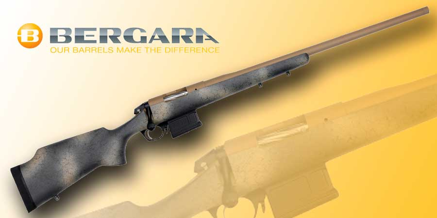Rifle de cerrojo Bergara Premier Approach.