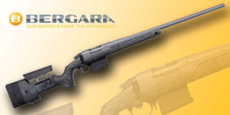 El rifle de cerrojo Bergara Premier HMR Pro es un rifle híbrido que nos sirve tanto para caza como para tiro.