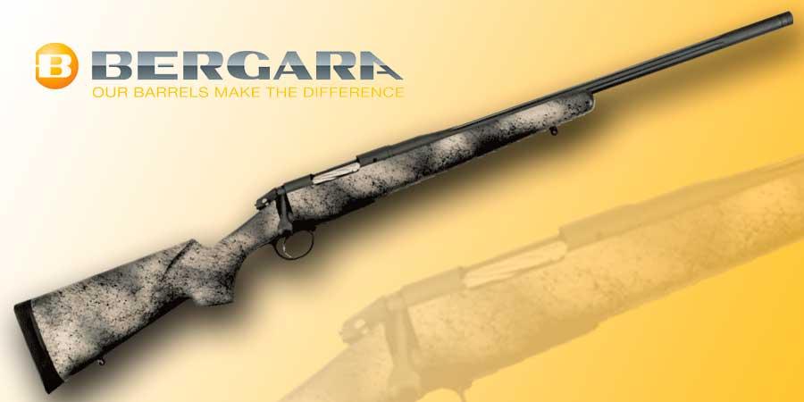 Rifle de cerrojo Bergara Premier Highlander.