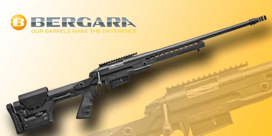 Rifle de cerrojo diseñado para el tiro deportido, Bergara Premier LPR.