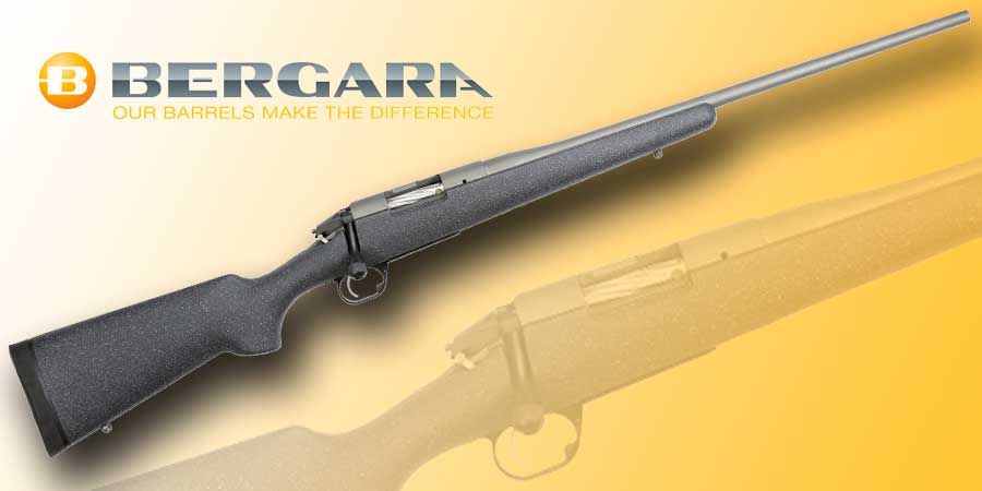 Rifle de carbono Bergara Premier Mountain, el primer rifle de carbono de la marca.
