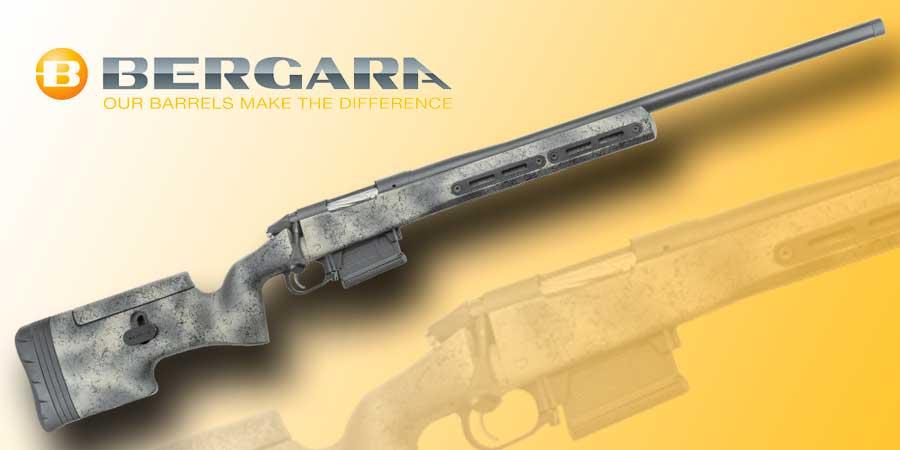 Rifle Bergara Premier Ridgeback, un rifle de cerrojo híbrido que sirve tanto para caza como para tiro deportivo.