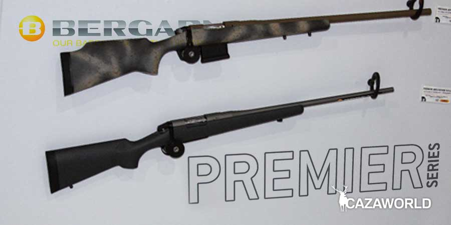 Los diferentes modelos de Bergara Premier fueron presentados en Cinegética 2019.