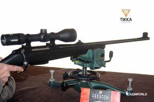 Probando un rifle Tikka