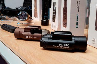 Linterna Olight Valkyria PL-Pro, la linterna más potente de la gama hasta la fecha, ahora también válida para rifle y arco.