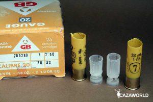 Taco contenedor del calibre 20