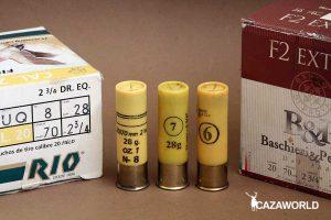 Cartuchos del calibre 20