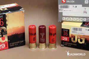 Cartuchos del calibre 16