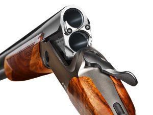 Escopeta Blaser con recámara de 76 mm