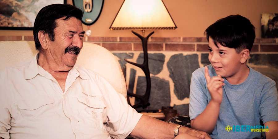 Pepe Vacas y su nieto Bruno, nos cuentan las jornadas que ambos disfrutan juntos.