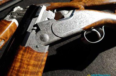 La Beretta SL3 incorpora grabados realizados con un láser de 5 ejes, la tecnología más avanzada de Beretta para grabados.
