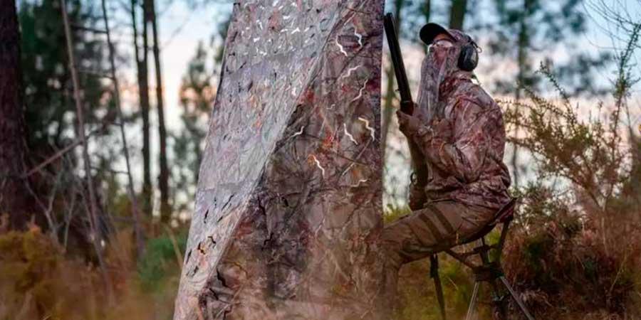 Pantalla de caza Solognac