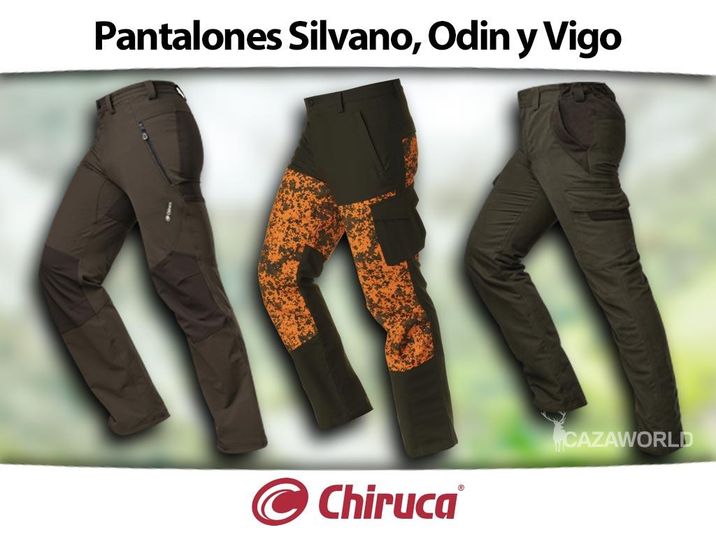 Pantalones Silvano, Odin y Vigo de Chiruca