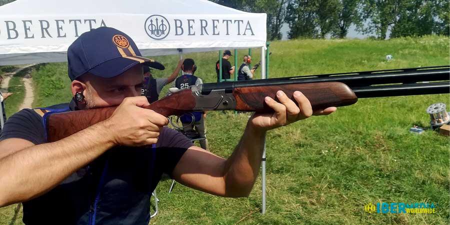 Probando la Beretta 694 en campo de tiro