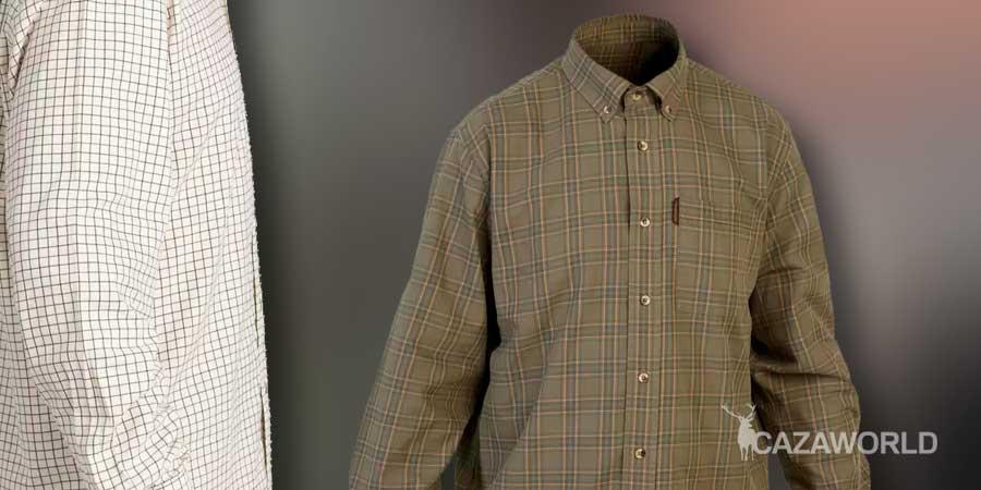 Camisa de caza Solognac 100