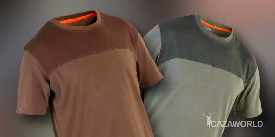Camiseta de caza Solognac 500 manga corta