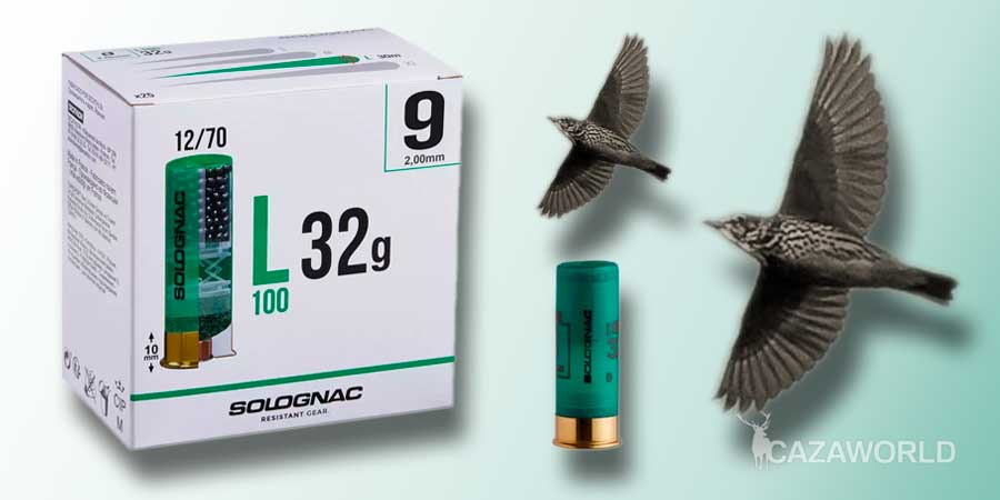 Cartucho Solognac calibre 12