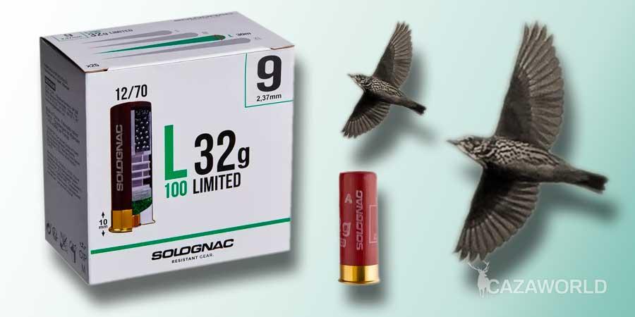 Cartucho Solognac calibre 12 limited