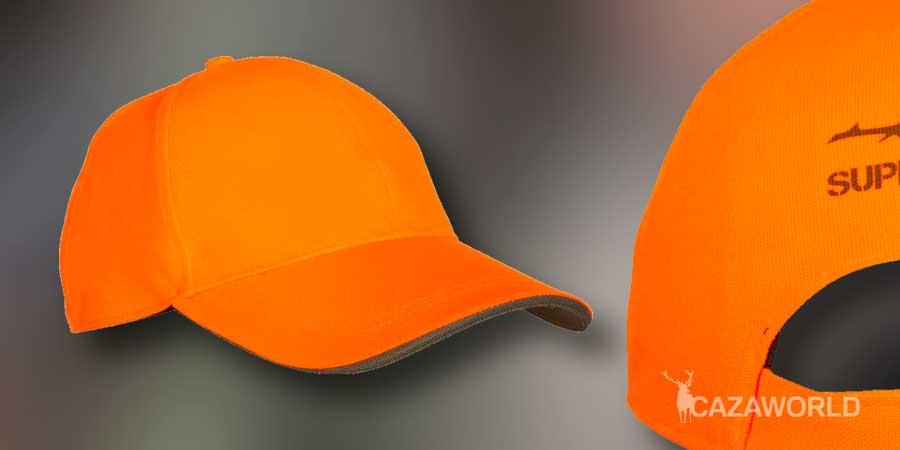 Gorra de caza Supertrack naranja