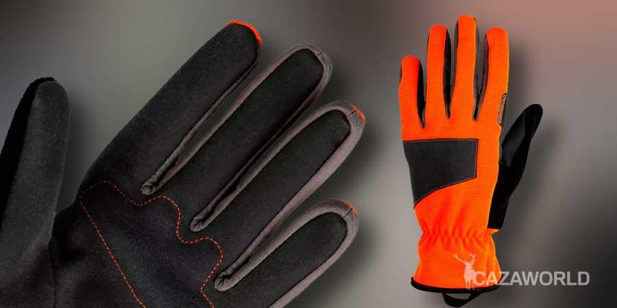 Guantes de caza Supertrack naranja