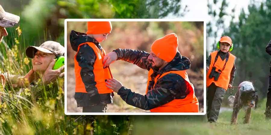 Ropa de caza Solognac para niños