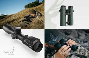 Imagen de los binoculares EL Range TA y el visor dS Gen. II