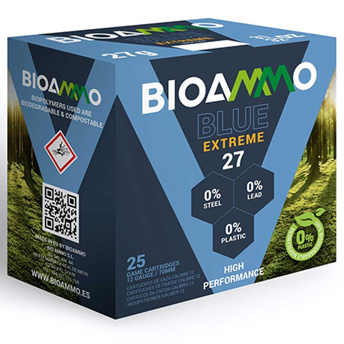 Cartuchos biodegradables Bioammo Cinegética