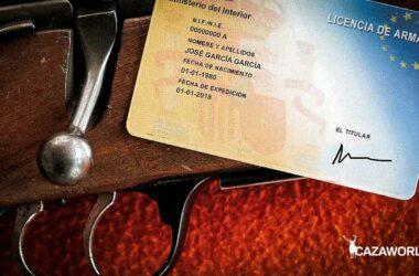 Licencia de armas y rifle