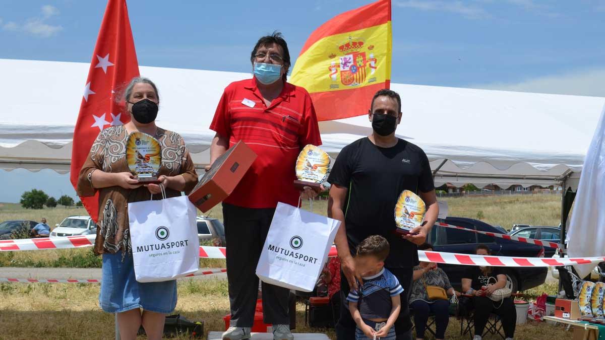 Campeonato España Silvestrismo 2021 Podium mixto jilguero campero