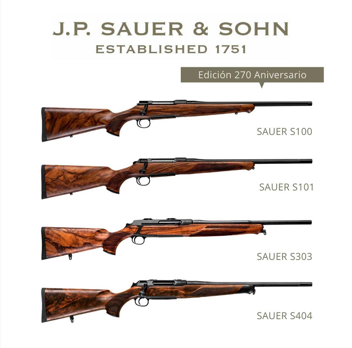 Edición especial Sauer 270 Aniversario
