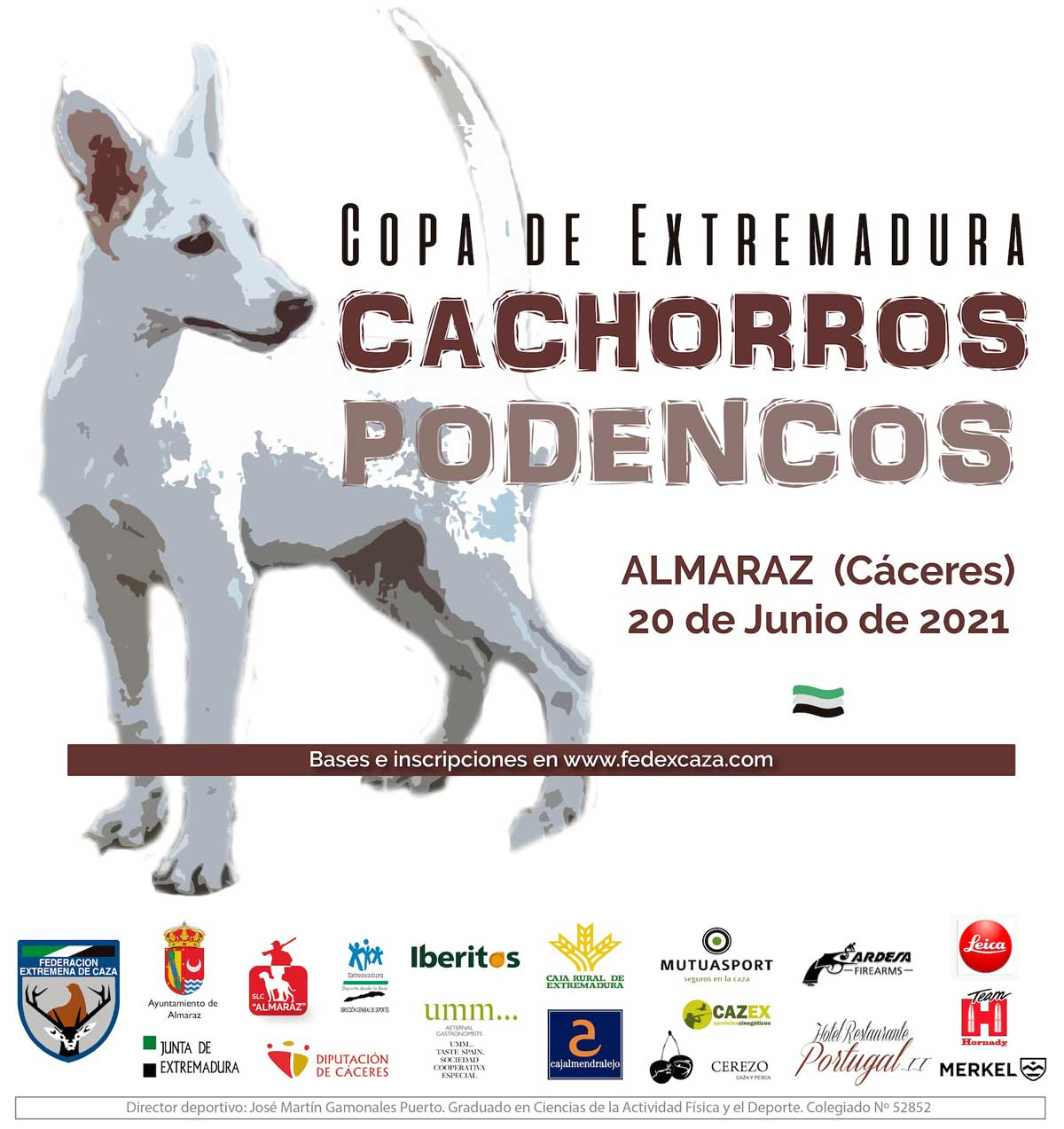 copa-podencos-Extremadura-cartel