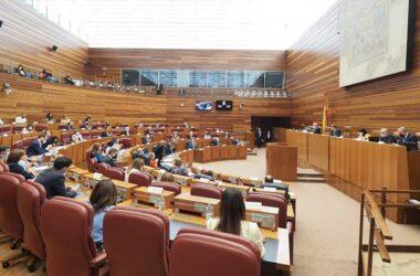 Sesión plenaria del día 23 de junio de 2021 de las Cortes de Castilla y León.