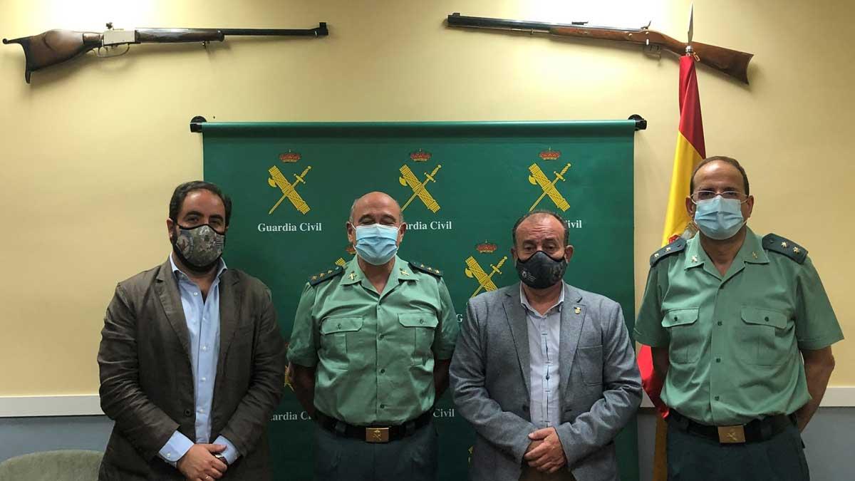 Reunión RFEC Guardia Civil
