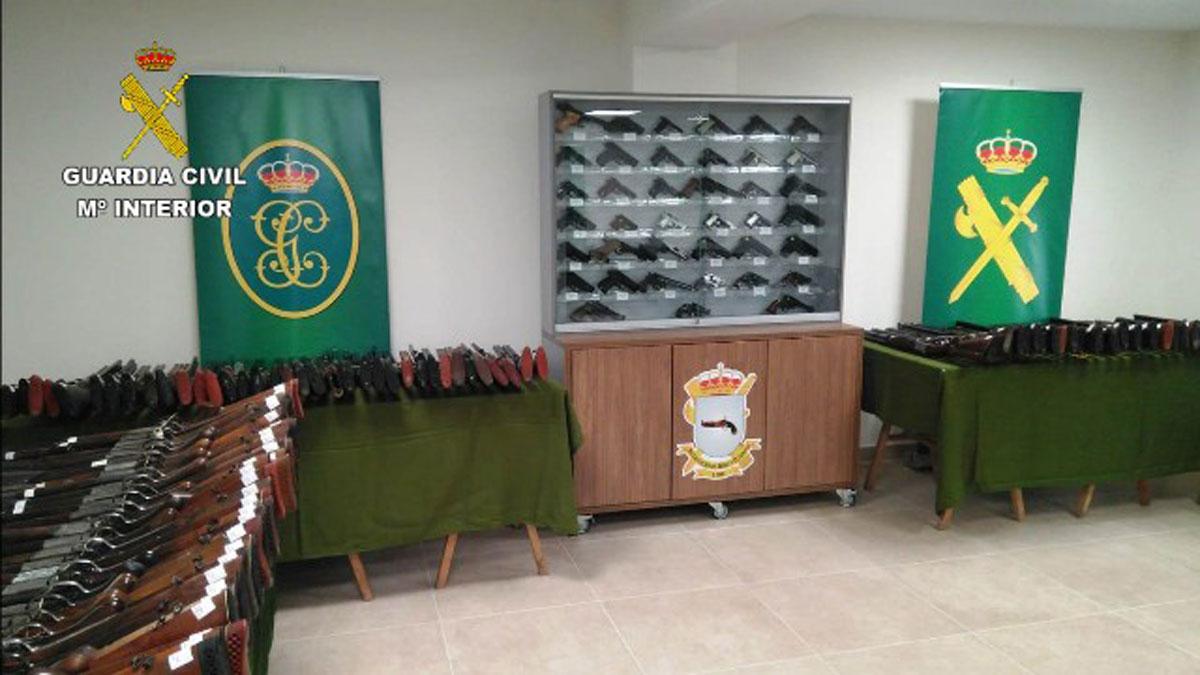 ICAE Guardia Civil armas