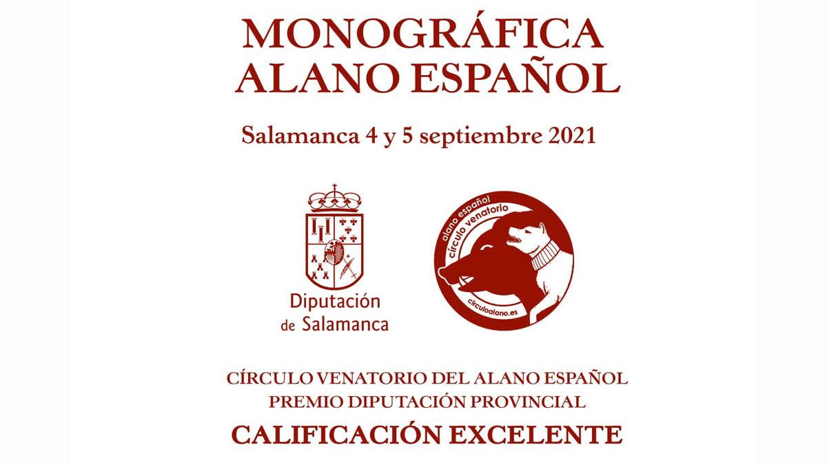 Monográfica Alano 2021 Salamanca