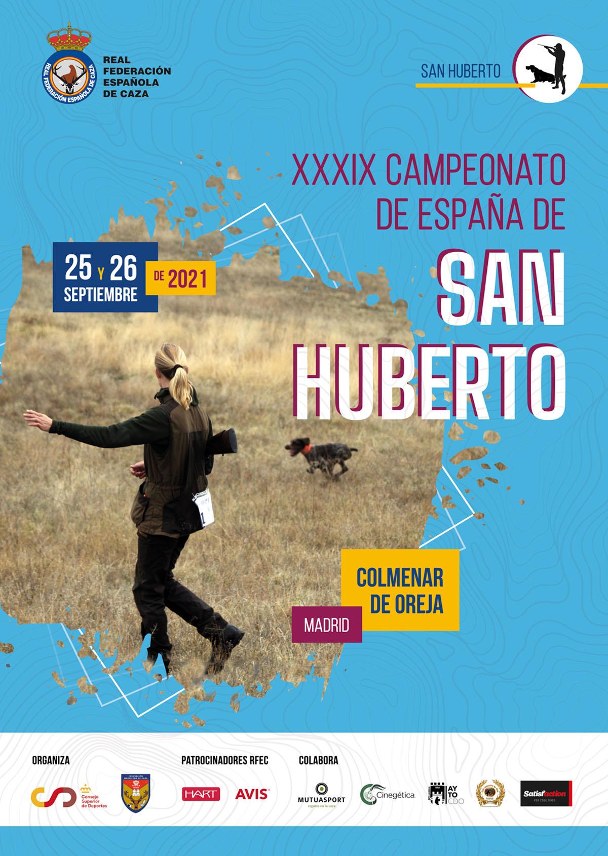 Campeonato de España de San Huberto 2021